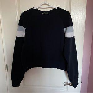 Brandy Melville Navy Striped Sweatshirt